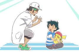 Ash and Professor Kukui | Ash pokemon, Pokemon alola, Pokemon characters