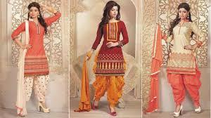 Designer Salwar Kameez 2017 New Patiala Salwar Kameez 2017 2018 Designs For Girls