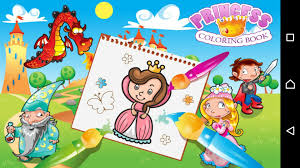 Small Picture Princess Coloring Book Coloring games for girls Android apps