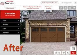 garage door after renovation