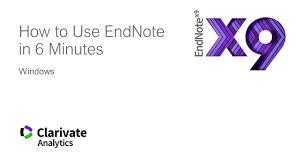 Desktop Endnote Endnote Libguides At University Of Reading