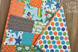 Baby Quilt Patterns Awesome Quick And Easy Baby Quilt Little Birdie Secrets