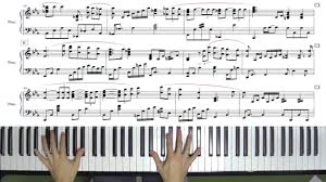 The Christmas Song Jazz Piano Arrangement With Sheet Music By Jacob Koller