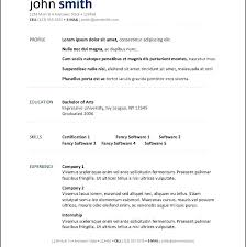 Resume Template Open Office Simple Resume Template Open Office Open Of Resume Template Inspirational