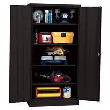 metal storage cabinet with lock. Simple Cabinet Metal Storage Cabinet With Steel Locking Doors Lock Garage Shop 72 Intended K