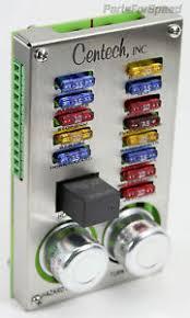 centech pdp 1b 13 circuit fuse panel hot rod street power image is loading centech pdp 1b 13 circuit fuse panel hot