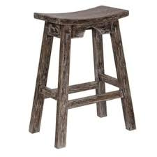 white rustic bar stools. Modren Rustic OSP Designs 26 Inch Saddle Stool With Washed And Rustic Finish Intended White Bar Stools R