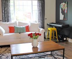 Music Living Room Guest Post Fernandas Less Is More Budget Living Room Make Under