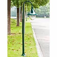 garden lighting garden lamp post garden lantern 120 cm dark green single head