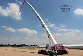 Wind Farm Erector Puts Largest Telescopic Crawler Crane To Work
