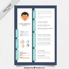 Creative Resume Template Delectable Designer Creative Resume Template Vector Premium Download