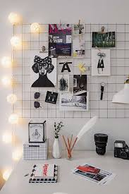 DIY Home Office Decor Ideas - DIY Iron Mesh Mood Board - Do It Yourself  Desks
