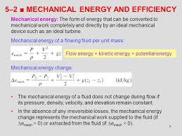 5 2 mechanical energy and efficiency