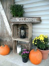 fall decor wood pumpkins barn shutters home country french decorating ideas pictures best front porch for primitive fall decor country