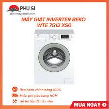 ⭐TRẢ GÓP 0% - Máy giặt Beko Inverter 7 kg WTE 7512 XS0 - BẢO HÀNH 2 NĂM:  Mua bán trực tuyến Máy giặt với giá rẻ