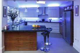 Blue Kitchen Decorating Kitchen Sleek Blue Kitchen Ideas With Lighting Fixture