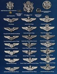 Air Force Insignia Chart