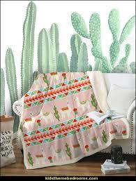 framed modern cactus wall print for