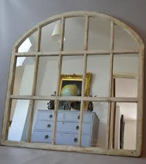 large arched mirror. Arched Window Mirror Pane Home Design Ideas Throughout Large Mirrors (Image I