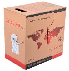 Купить <b>Telecom</b> UTP CAT5E Ultra TUS44048E 350м 24AWG/0.51 ...