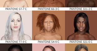 Pantone Skin Tone Chart Photographer Travels The World To Capture Every Skin Tone In