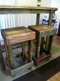 diy rustic bar. Exellent Rustic Diy Bar Table And Stools Rustic Stool Ideas On  With Diy Rustic Bar