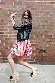 The Man Repeller The Man Repeller Charlotte Olympia Shoes W Poms Funky Full Skirt