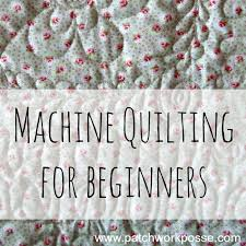 Machine Quilting & ... machine or have a large machine quilter…. here are all the helpful  hints and tips to hopefully get you past a few bumps and help you avoid  them as well! Adamdwight.com