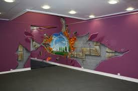 wall art ideas design shell illusion 3 d wall art painting cracked backgrounds london eye famous landmark by artisan creations city landscape amazing  on 3d wall art painting designs with wall art ideas design shell illusion 3 d wall art painting cracked