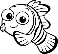 Finding Nemo Characters Coloring Pages Finding Coloring Pages