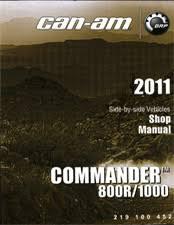 2011 commander 800r 1000 shop manual