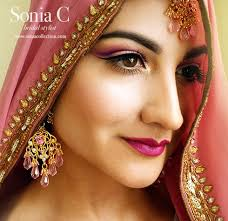 indian bridal hair bride indian punjabi bride bold lips bridal makeup desi bride cut crease wedding events manish