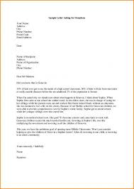 Sample Donation Letters Sample Letter Asking For Donations For School Template