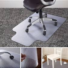 pvc home office chair floor. 90X120cm PVC Floor Mat Home Office Chair Studded Back With Lip For Pile Carpet A Pvc