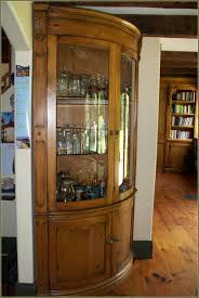 Glass Curio Cabinets With Lights Glass Curio Cabinets With Lights Home Design Ideas