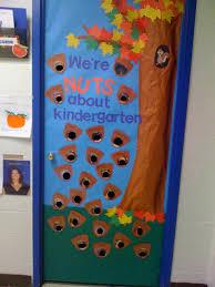 classroom door decorations for fall. September Door! We\u0027re Nuts About Kindergarten! Classroom Door Decorations For Fall U