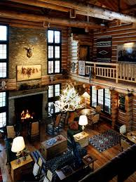 spaces hunting lodge design pictures