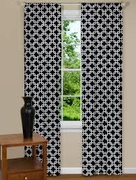 Black Patterned Curtains New Inspiration Design
