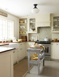 small u shaped kitchen layouts with island