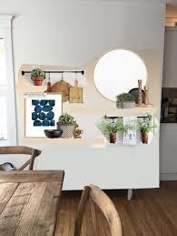 Floating Shelves In Dining Room