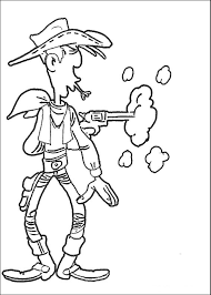 Small Picture Coloring Pages Lucky Luke Animated Images Gifs Pictures
