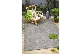 wyatt charcoal grey coastal geometric runner rug 400x80cm