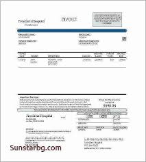 Medical Bill Template Pdf Lovely Billing Template For Word