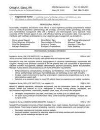 New Nurse Resume No Experience New Rn Resumes Magdalene Project Org