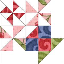 Block 5 | Basket quilt, Patchwork and Patterns & Block 5 | by Piecemeal Quilts Adamdwight.com