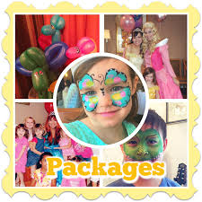 face painter and balloon artist kids party entertainment packages princesses elsa anna clowns toddler parties face face painting balloons