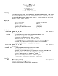 Concierge Resume Investment Assistant Sample Resume