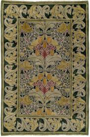 lily vine rug or wall hanging by voysey