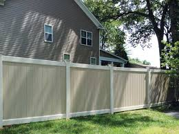 Activeyards Two toned Vinyl Fencing By matching two vinyl fence
