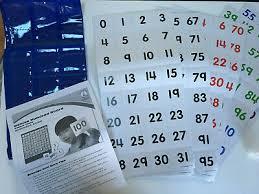 Carson Dellosa Deluxe Hundred Board Pocket Chart 15 00